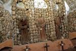 Cripta de los huesos en Santa María de la Concepción
