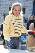 Marcel Gorgone, el último mimo de la Plaza Navona