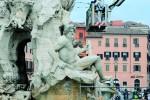Restaurado el obelisco de Plaza Navona