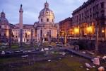 La Columna de Trajano, monumento y mirador de Roma